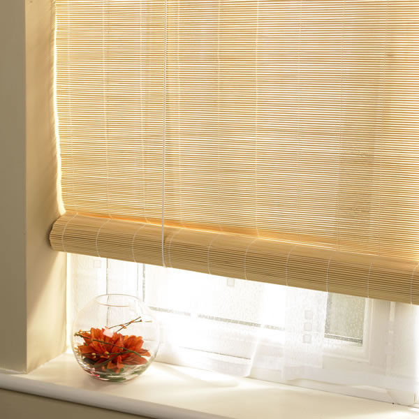 Roman Style Outdoor Pvc Roll Up Blinds Wear Resistant Compact Framework