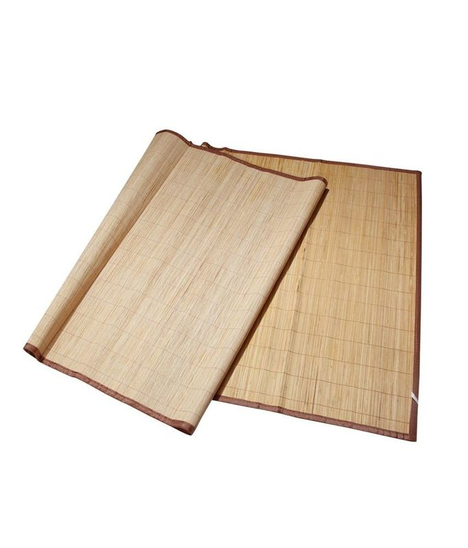 Professional Bamboo Schach Mat Weaving With Raffia Fumigation Certification